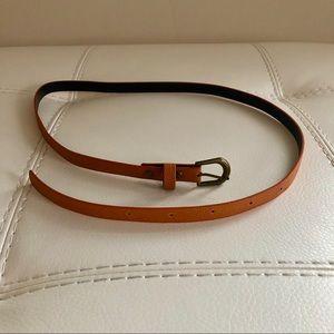 Accessories - Cognac Color Belt